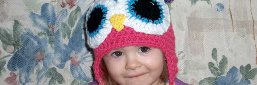 Mary's Moxee Crochet Owl Hat