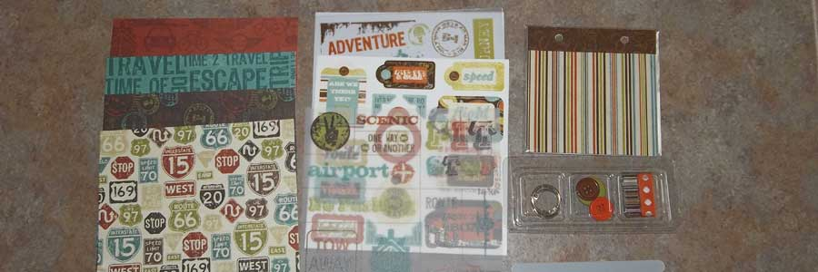 Scrapbooking Mini Album Kit