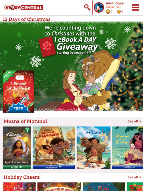 Disney Story Central Countdown to Christmas - Penny Minding Mom
