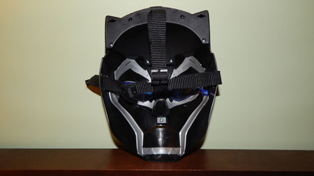 Black Panther Mask back