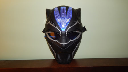 Black Panther Mask front