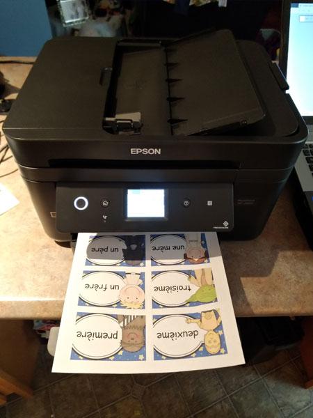 Epson WF-2860 printer