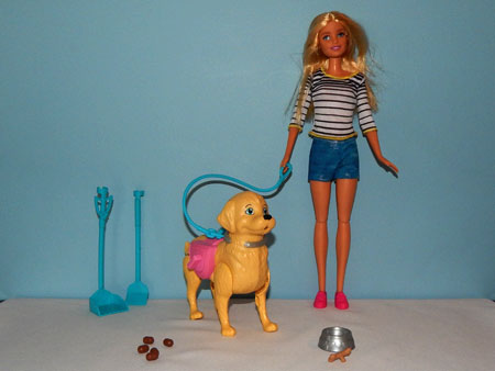 Barbie Walk and Potty Pup