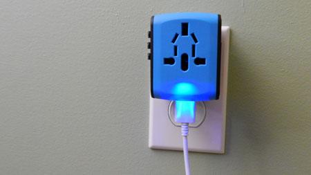 Adapter Blue Light