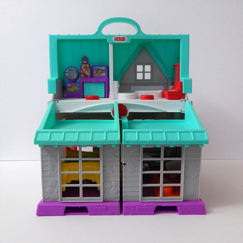 Little People House Back