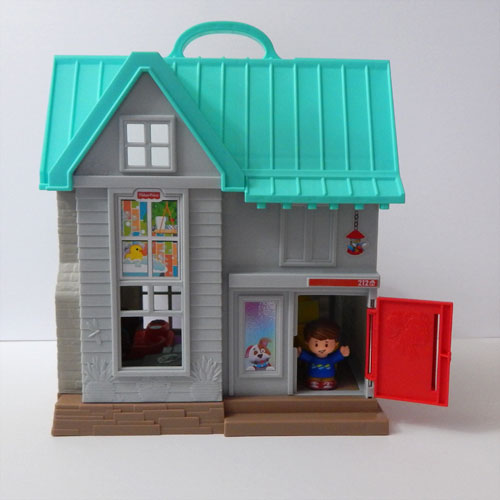 Fisher Price Little People Big Helpers Home Penny Minding Mom