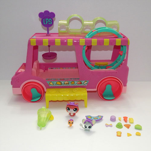 Littlest Pet Shop Treats Truck Accessories