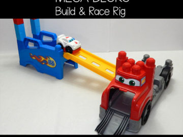 Mega Bloks Build and Race Rig