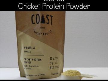 Coast Cricket Protein Powder