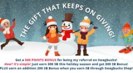 Swagbucks January Referral