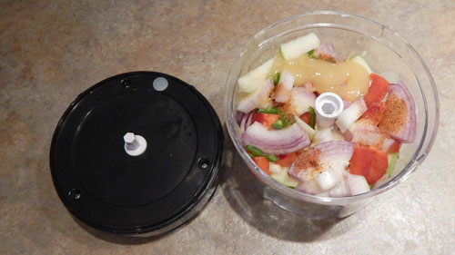 Cuisinart Mini Processor - Apple Salsa
