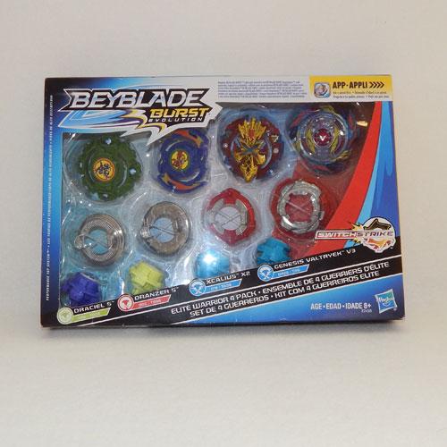 Beyblade Burst Evolution Elite Warrior Four Pack