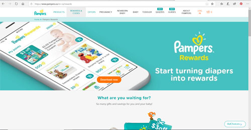 Pampers Rewards