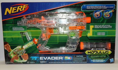 Nerf Modulus Ghost Ops Evader in Box
