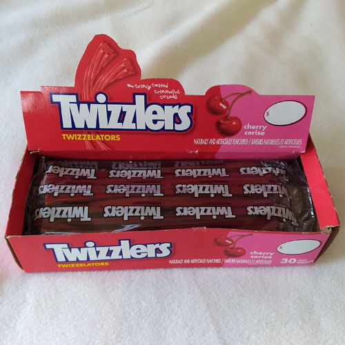 Cherry Twizzelators Box