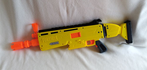 Fortnite AR-L Nerf Elite Dart Blaster Back