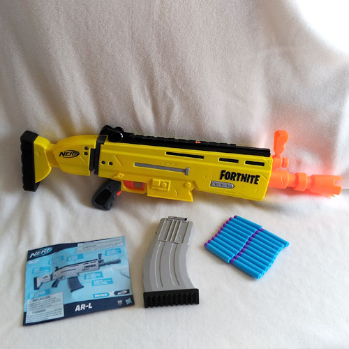 Fortnite AR-L Nerf Elite Dart Blaster Parts
