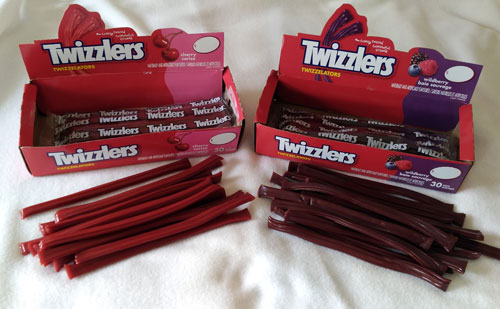 Wildberry and Cherry Twizzlers