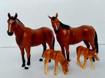 Terra by Battat - Quarter Horse Family