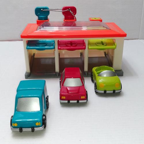 Battat 3 Car Garage