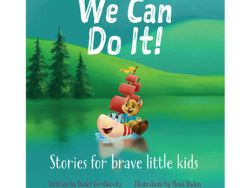 Book Cover - We Can Do it, Stories for Brave Little Kids written by Daniel Gershkovitz