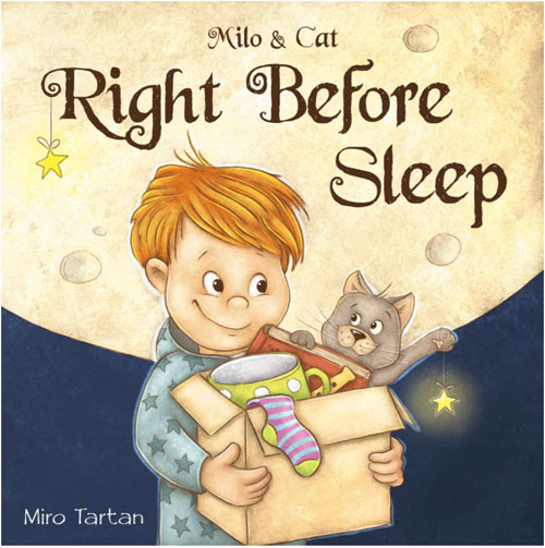 Right Before Sleep Milo and Cat eBook