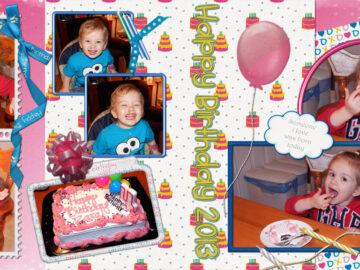 Birthday Party DigiScrap kit by Scrap de Yas