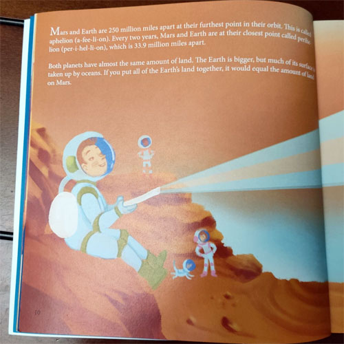 Inside pages If You were me and lived on mars